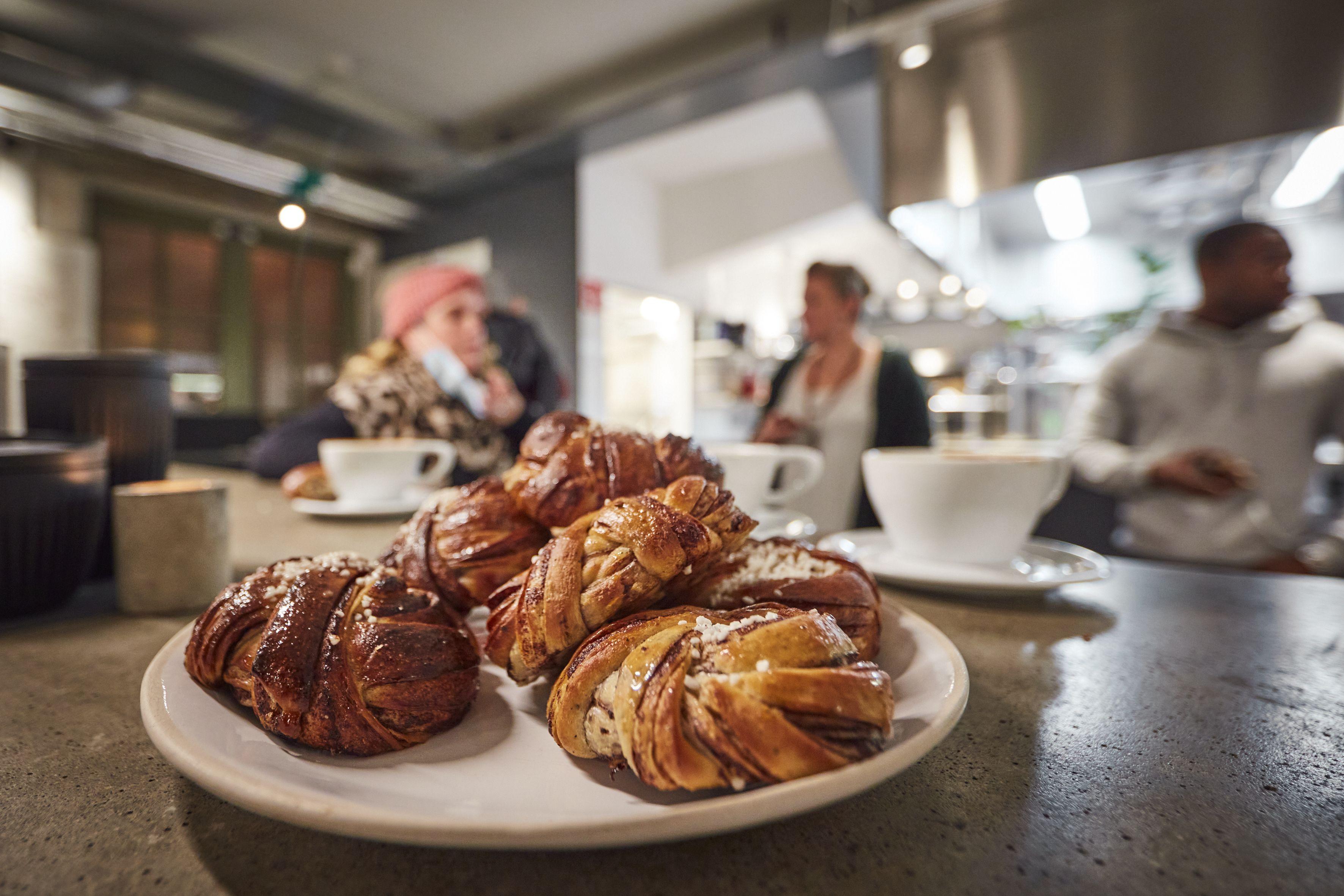 Forsidebillede til: Cafeliv i Gøteborg