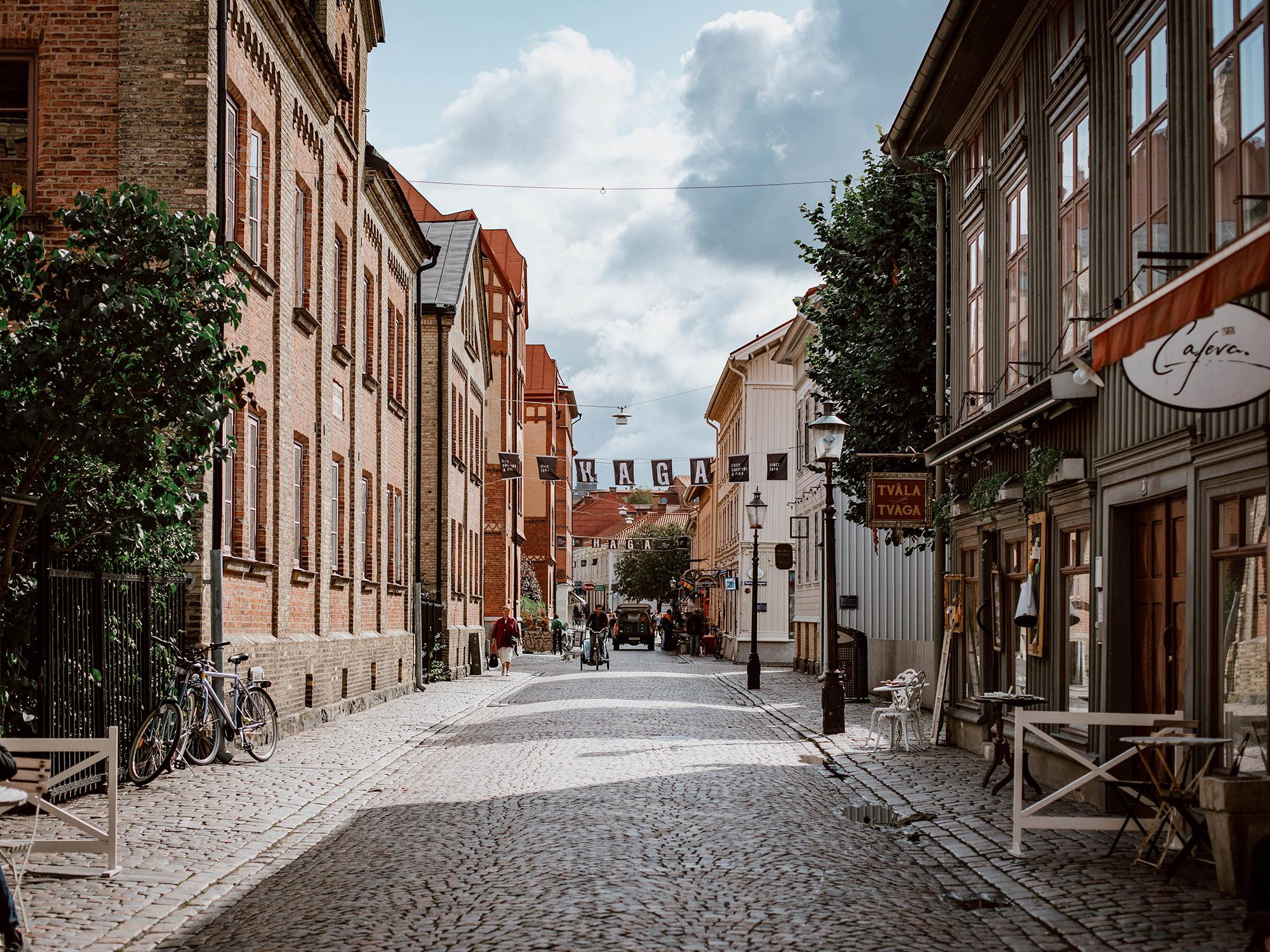 Forsidebillede til: Shopping i Gøteborg
